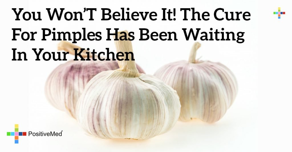 You Won't Believe It! The Cure for Pimples Has Been Waiting in Your Kitchen