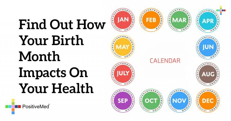 Find Out How Your Birth Month Impacts on Your Health