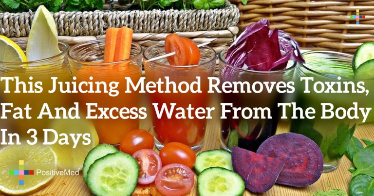This Juicing Method Removes Toxins, Fat and Excess Water From the Body in 3 Days