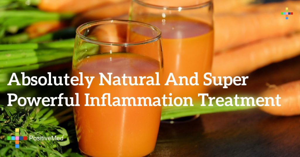 Absolutely Natural and Super Powerful Inflammation Treatment