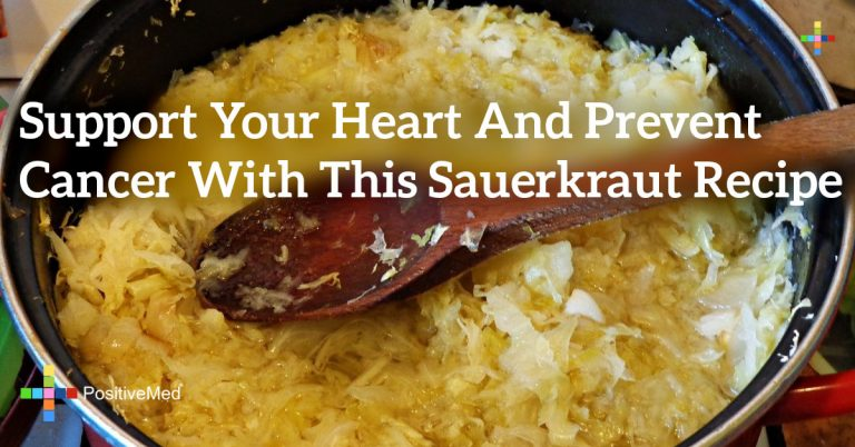 Support Your Heart and Prevent Cancer With This Sauerkraut Recipe