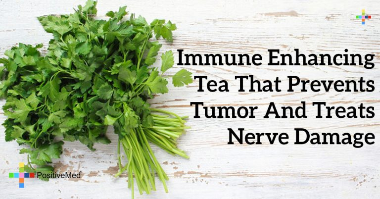 Immune Enhancing Tea That Prevents Tumor and Treats Nerve Damage