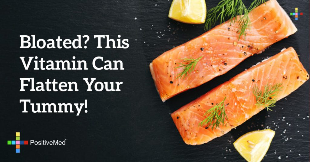 Bloated? This Vitamin Can Flatten Your Tummy!