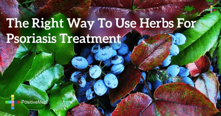 The Right Way to Use Herbs for Psoriasis Treatment