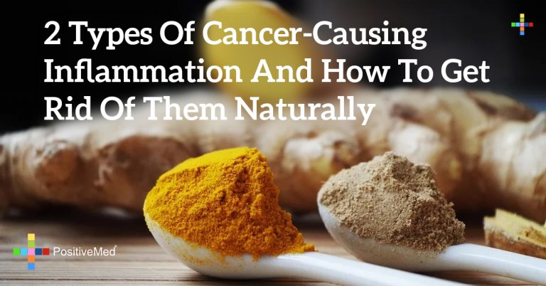 2 Types of Cancer-Causing Inflammation and How to Get Rid of Them Naturally