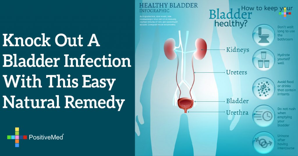 Knock Out a Bladder Infection With This Easy Natural Remedy