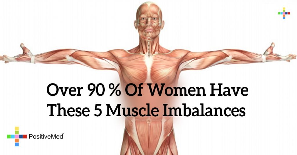 Over 90 % of Women Have These 5 Muscle Imbalances