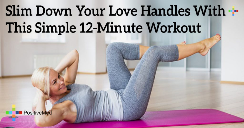 Slim Down Your Love Handles With This Simple 12-Minute Workout