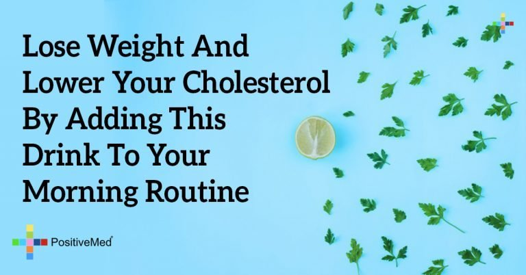 Lose Weight and Lower Your Cholesterol by Adding THIS Drink to Your Morning Routine