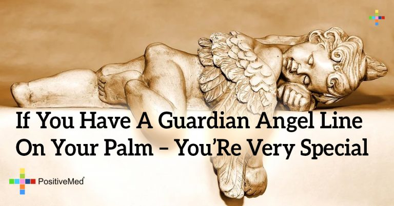 If You Have a Guardian Angel Line on Your Palm – You're Very Special