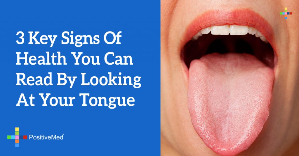 3 Key Signs of Health You Can Read by Looking at Your Tongue