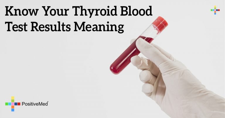 Know Your Thyroid Blood Test Results Meaning