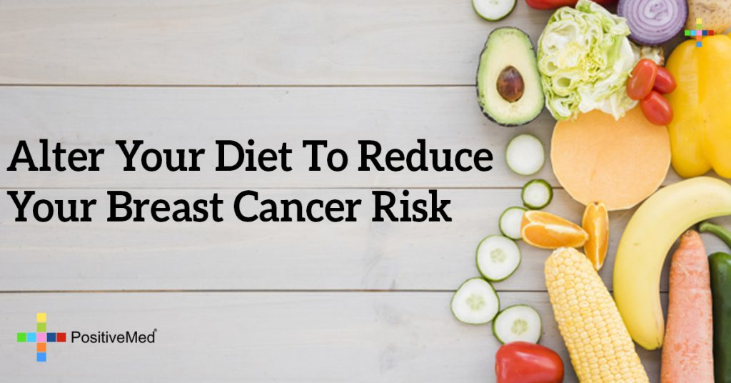 Alter Your Diet To Reduce Your Breast Cancer Risk