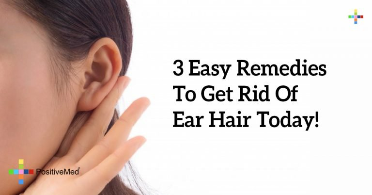 3 Easy Remedies To Get Rid Of Ear Hair Today!