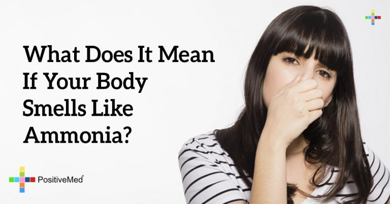 What Does It Mean If Your Body Smells Like Ammonia?