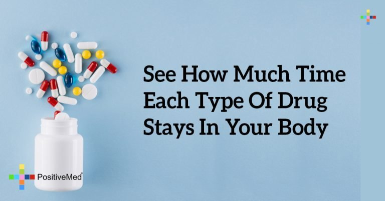 See How Much Time Each Type Of Drug Stays In Your Body