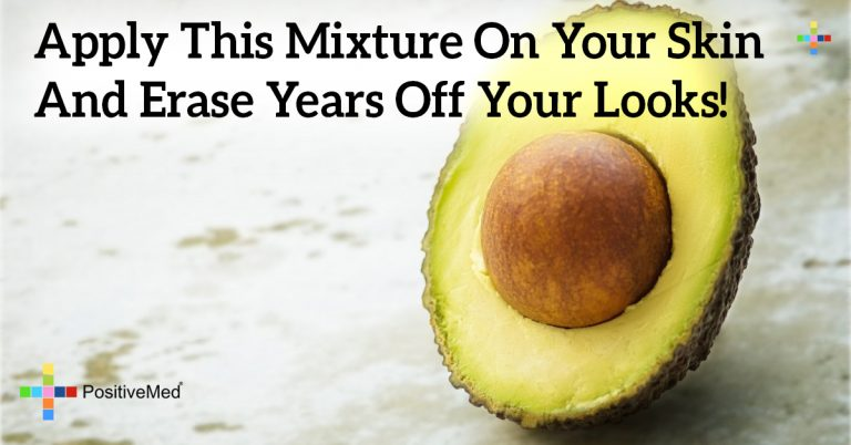 Apply THIS Mixture On Your Skin And Erase Years Off Your Looks!