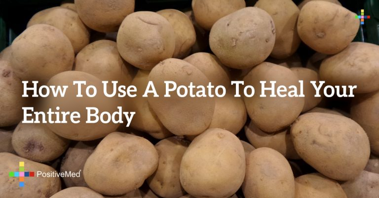 How to Use a POTATO to Heal Your Entire Body