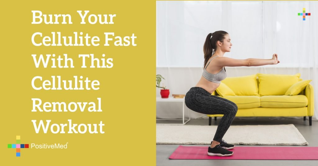 Burn Your Cellulite Fast With This Cellulite Removal Workout