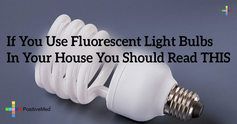 If You Use Fluorescent Light Bulbs In Your House You Should Read THIS