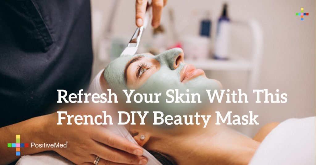 Refresh Your Skin With This French DIY Beauty Mask