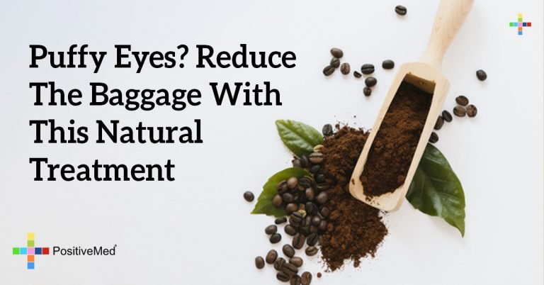 Puffy Eyes? Reduce The Baggage With This Natural Treatment