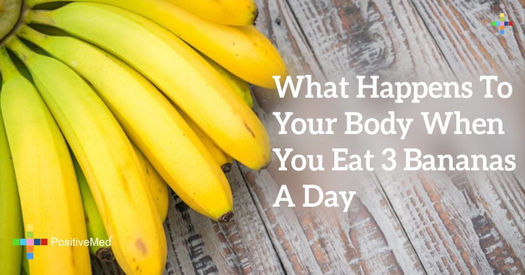 What Happens To Your Body When You Eat 3 Bananas A Day
