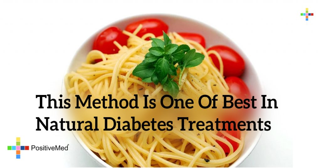 This Method Is One Of Best In Natural Diabetes Treatments