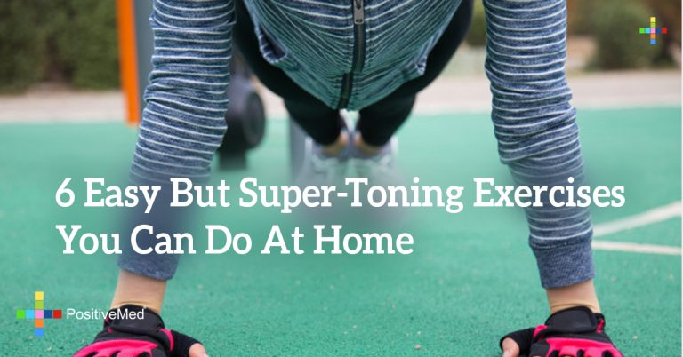 6 Easy But Super-Toning Exercises You Can Do At Home