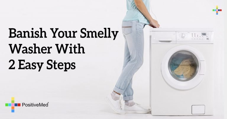 Banish Your Smelly Washer With 2 Easy Steps