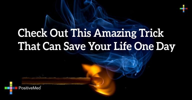 Check Out This Amazing Trick That Can Save Your Life One Day