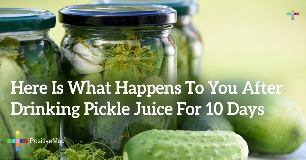 Here Is What Happens To You After Drinking Pickle Juice For 10 Days