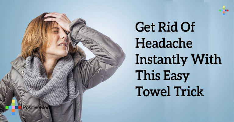 Get Rid Of Headache Instantly With This Easy Towel Trick