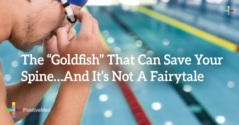 "The ""Goldfish"" That Can Save Your Spine…And It's Not A Fairytale"