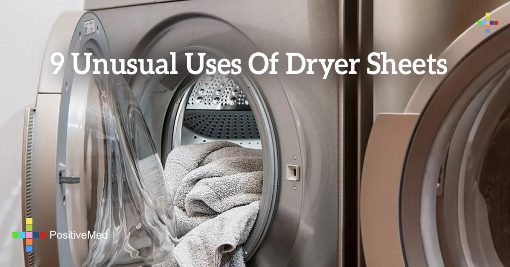 9 Unusual Uses Of Dryer Sheets