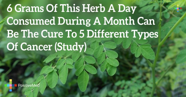 6 Grams Of This Herb A Day Consumed During A Month Can Be The Cure To 5 Different Types Of Cancer (Study)