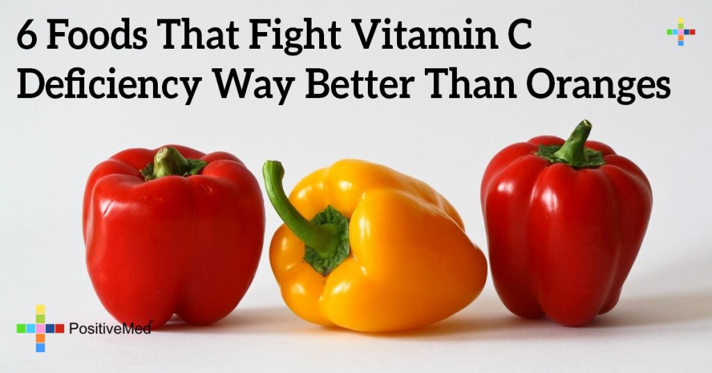6 Foods That Fight Vitamin C Deficiency Way Better Than Oranges