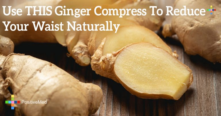 Use THIS Ginger Compress To Reduce Your Waist Naturally