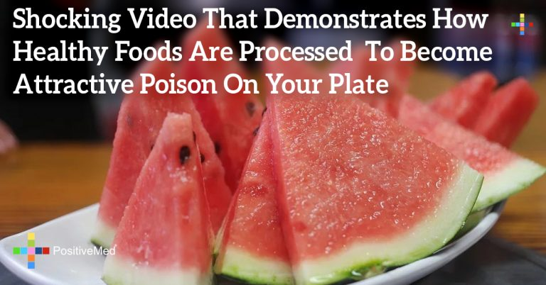 Shocking Video That Demonstrates How Healthy Foods Are Processed To Become Attractive Poison On Your Plate