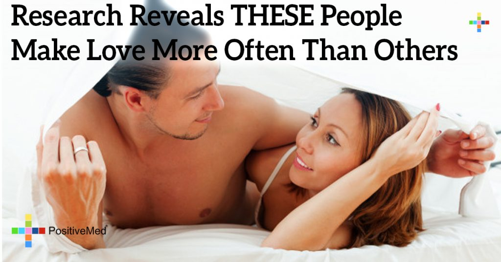 Research Reveals THESE People Make Love More Often Than Others