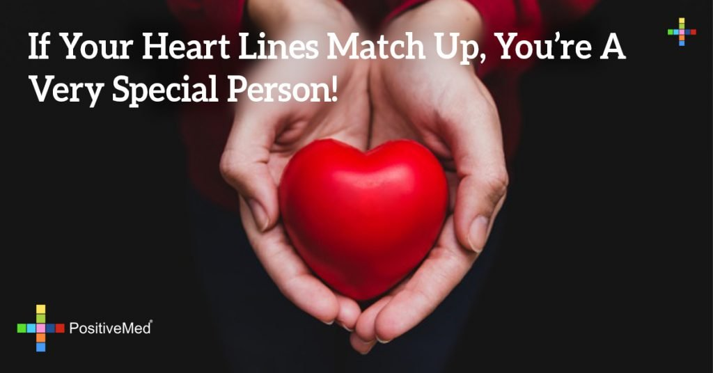 If Your Heart Lines Match Up, You're A Very Special Person!