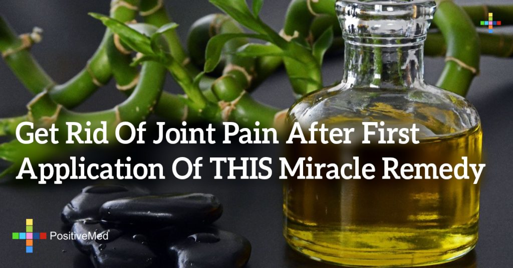 Get Rid Of Joint Pain After First Application Of THIS Miracle Remedy