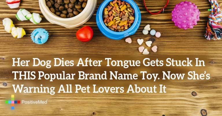 Her Dog Dies After Tongue Gets Stuck In THIS Popular Brand Name Toy. Now She's Warning All Pet Lovers About It