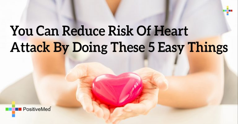 You Can Reduce Risk Of Heart Attack By Doing These 5 Easy Things