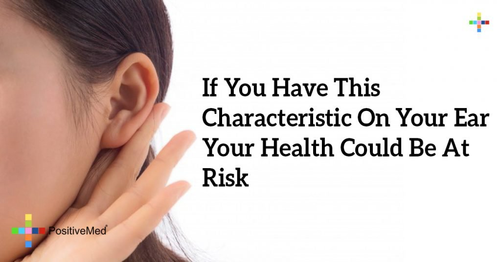 If You Have This Characteristic On Your Ear Your Health Could Be At Risk