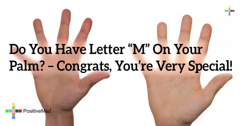 """Do You Have Letter """"M"""" On Your Palm? – Congrats, You're Very Special!"""