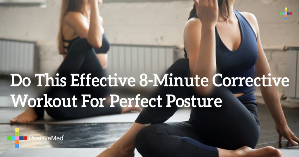 Do This Effective 8-Minute Corrective Workout For Perfect Posture