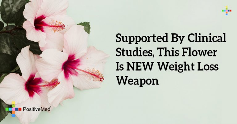 Supported By Clinical Studies, This Flower Is NEW Weight Loss Weapon