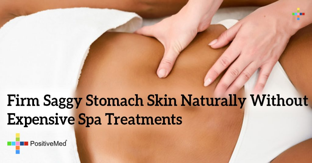 Firm Saggy Stomach Skin Naturally Without Expensive Spa Treatments