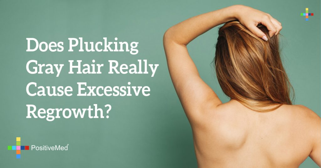 Does Plucking Gray Hair Really Cause Excessive Regrowth?